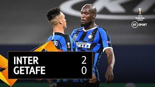 Inter Milan vs Getafe (2-0) | UEFA Europa League Highlights