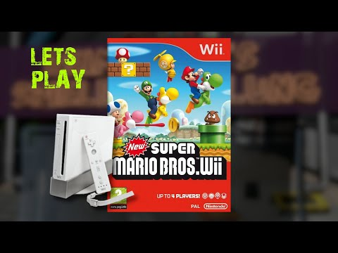 Lets Play : New Super Mario Bros : Part 1 [WII]