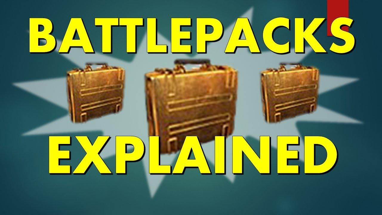 how to open battlepacks bf4