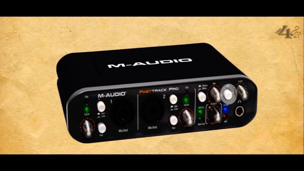 m audio fast track pro drivers free