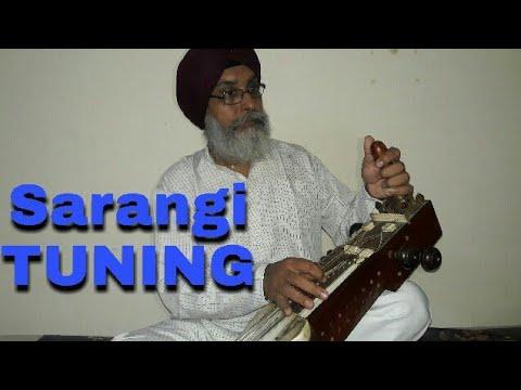 Sarangi tuning video