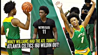 Mikey Williams Ain't Scared Of Nobody!! Atlanta Celtics 16u Show Out In Final Game Of Weekend!