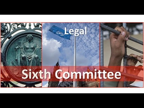 Legal Committee (Sixth Committee) - Promo video