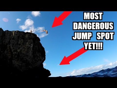 DEADLY CLIFF JUMPING SPOT IN PUERTO RICO!!! Final Day