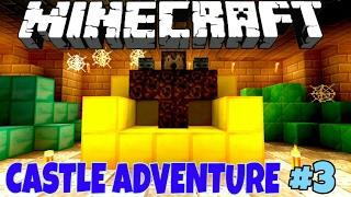 Castle Adventure! Приключения в Замке #3 [Прохождение Карты] - Minecraft PE Без Мата 🌡