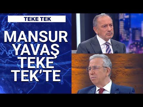 Ankara Büyükşehir Belediye Başkanı Mansur Yavaş Habertürk'te | Teke Tek – 1 Nisan 2021