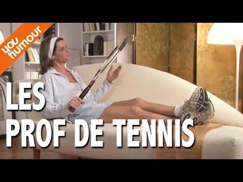 Victoire chez le psy, Le prof de tennis