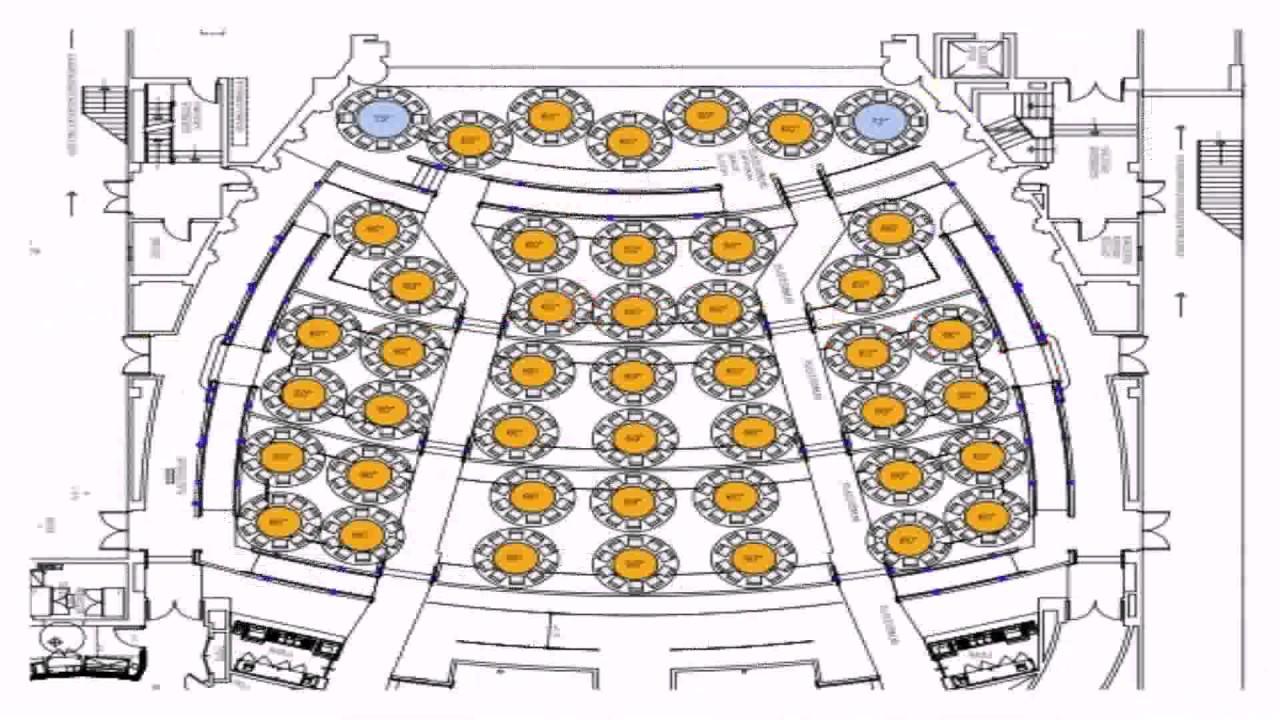 Dolby Theatre Floor Plan