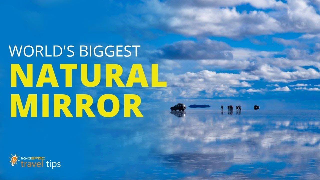 World S Largest Natural Mirror Salar De Uyuni Bolivia