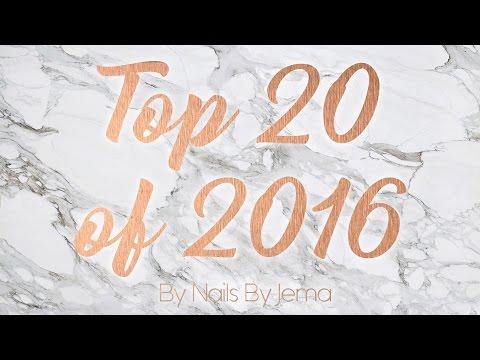 Top 20 Nail Designs of 2016