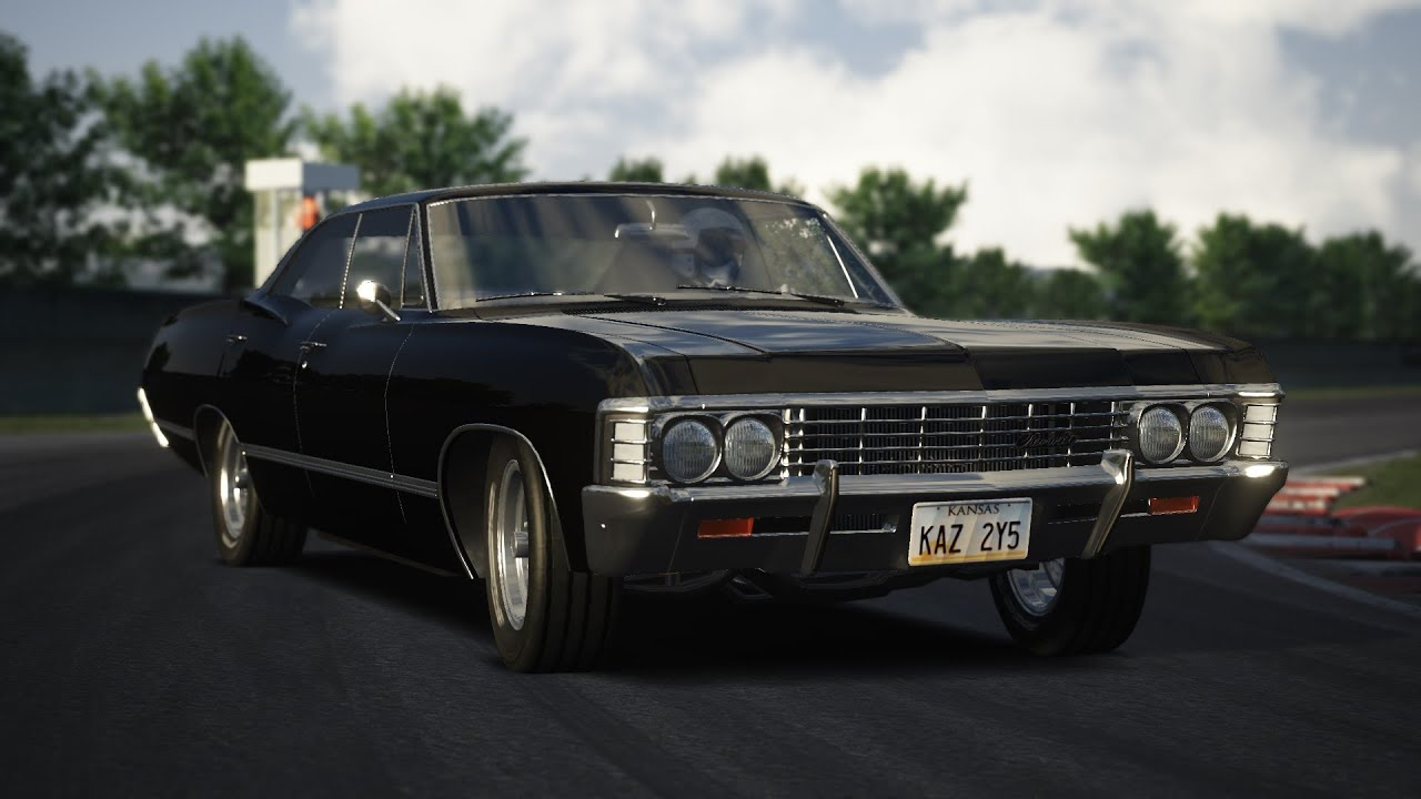 assetto corsa - chevrolet impala 1967 + download - youtube