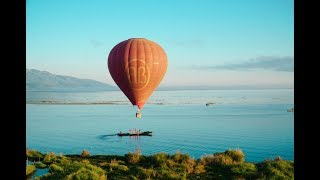 Hot Air Balloons over Inle Lake