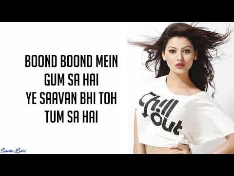 Boond Boond Mein Lyrics Song Hate Story 4