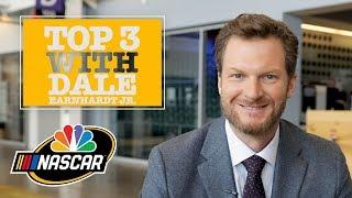 Dale Earnhardt Jr. reveals his top three NASCAR victories I NASCAR I NBC Sports