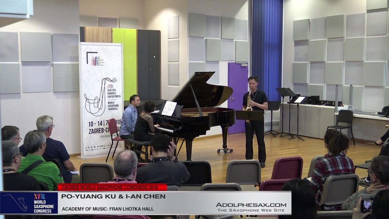 Past Presents by Michael Sidney Timpson   Po Yuang Ku & I An Chen   XVIII World Sax Congress 2018 #a