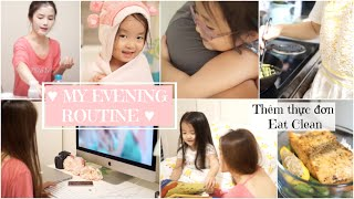 My Evening Routine ✿ Buổi Tối Của Nhà Donut ✿ Meal Prep Eat Clean | mattalehang