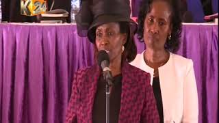 connectYoutube - Late Dr. Wahome Gakuru's wife paying him tribute
