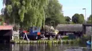 Rast beim Fischer in Canow am Labussee.