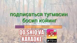 Janop Rasul_Yomonsan karaoke qo'shiq