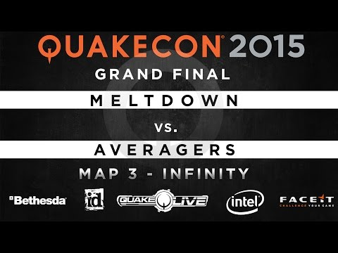 Meltdown Vs. Averagers - Map 3 - Infinity (QUAKECON 2015 CTF)