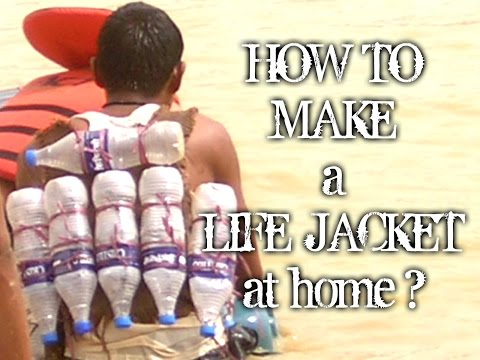 How to make a life jacket at home? (with subtitles)