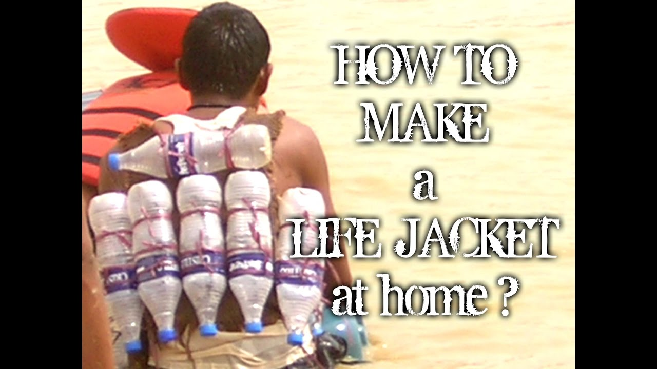 How to make a life jacket at home with subtitles  YouTube