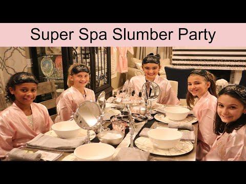 Super Spa Sleepover