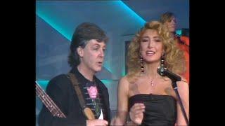 Paul McCartney - Listen to what the main said (Sanremo '88 Serata finale) - live + Interview