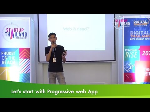 Let's start with Progressive web App