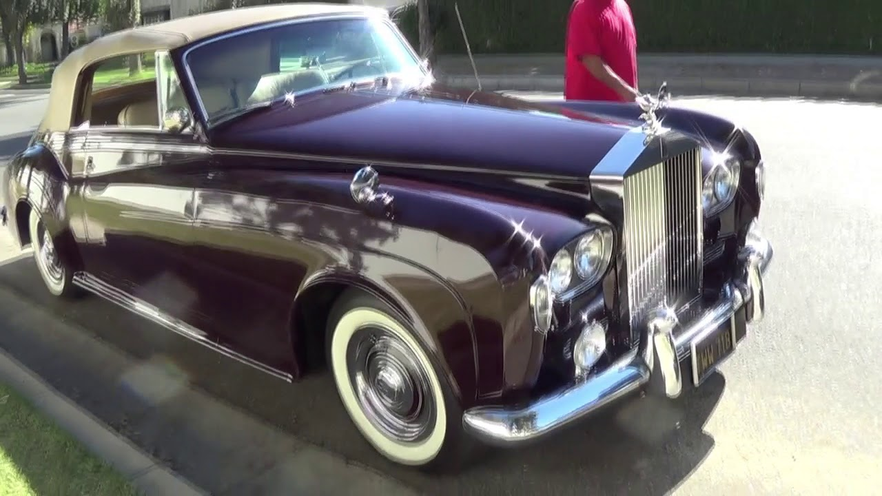 1963 Rolls Royce Silver Cloud III \'Drophead\' Convertible Coupe for ...
