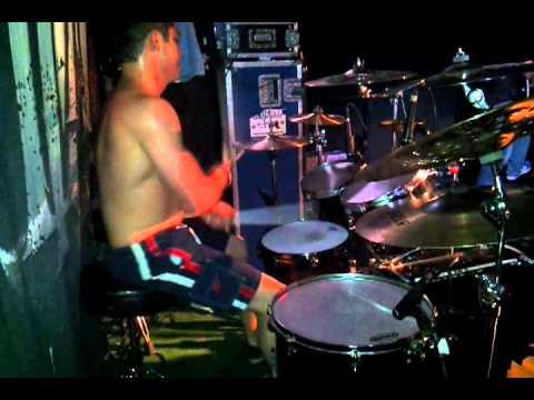 Leche - As Blood Runs Black - Beneath The Surface - Drum Performance