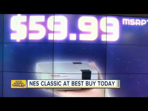 Get The Nintendo NES Classic Edition At Best Buy On Monday, Limited Supplies