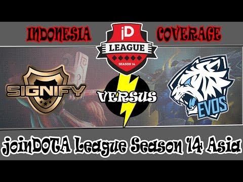 LIVE-DOTA 2  SIGNIFY vs EVOS Esport #BO2 #JoinDota League 14#ROOOOARRRR#