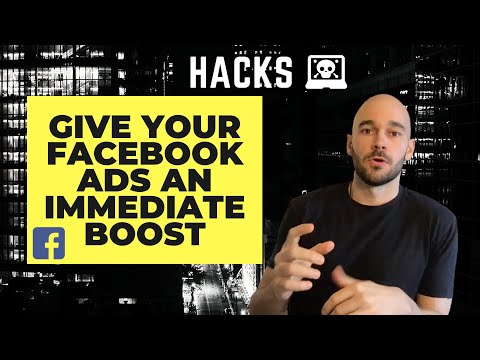 Facebook Ad Trick to Give Your Ads an Immediate Boost