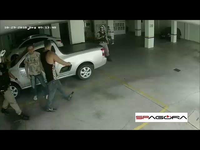 Homem acaba preso após agredir policiais militares