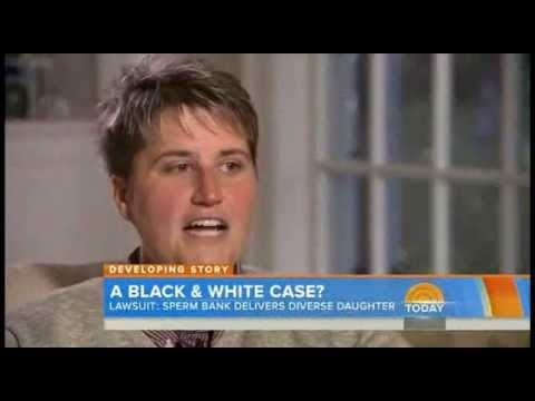 Lesbian Mom Sues Sperm Bank After She Gave Birth To Mixed Race Baby Youtube