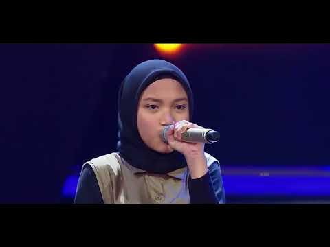 Hamidah  Dangerous Woman  -  Sing Off   The Voice Kids Indonesia Season 2 - 2017