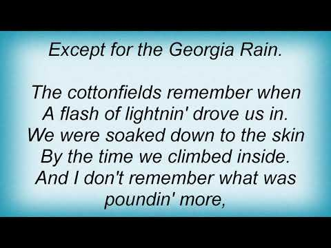 Trisha Yearwood - Georgia Rain Lyrics