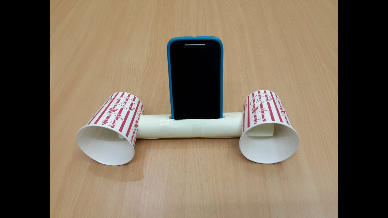 Cool Speaker how to make a cool smartphone amplifier/speaker - youtube