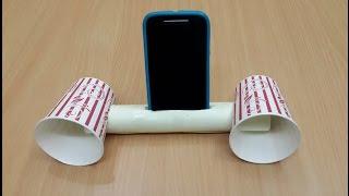 গান সোনার সহজ এক টি উপায় How to Make a Cool Smartphone Amplifier/Speaker