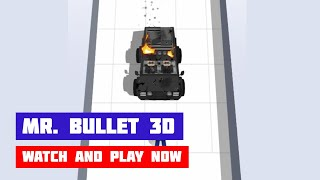 Mr. Bullet 3D · Game · Gameplay