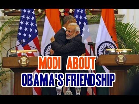 PM Narendra Modi about his friendship with Obama | Mango News