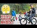 TOP 5 THINGS TO NEVER DO AT THE SKATEPARK!