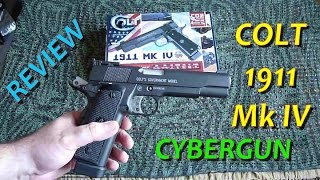 [AIRSOFT] Review N°46 COLT 1911 Mk IV (CYBERGUN) - GBB CO2