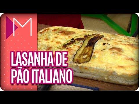 Lasanha de Pão Italiano - Mulheres (13/04/18)