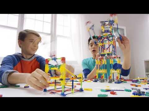 4. UK K'NEX Imagine Creation Zone Building Set video