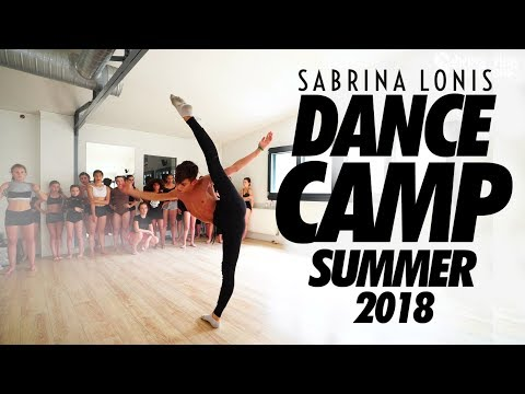 Sabrina Lonis DANCE CAMP Summer 2018  contemporary jazz workshop Paris  By Artmosphere