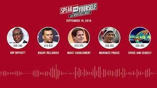 SPEAK FOR YOURSELF Audio Podcast (9.19.18) with Marcellus Wiley, Jason Whitlock | SPEAK FOR YOURSELF