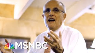 Joe: Rudy Giuliani Is Not Even A Shadow Of Himself Now | Morning Joe | MSNBC
