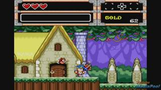 1991 Wonder Boy in Monster World (Sega Genesis) Game Playthrough Video Game